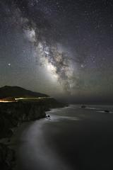 Coastline to the Core (Omnitrigger) Tags: milkyway coastline pacific night nightphotography longexposure bigsur