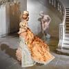Poppy wearing orange pekoe gown. (RockWan FR) Tags: orangepekoe poppyparker babyitsyou integritytoys gown fashionroyalty
