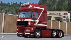 """DAF XF 105 """"Stefan de Koster"""" (Bepreeh) Tags: ets ets2 euro truck simulator 2 daf xf 105 stefan de koster"""