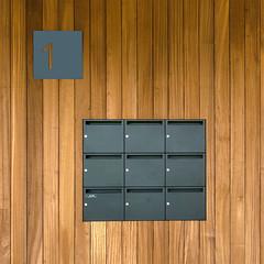 Number 1 (jefvandenhoute) Tags: belgium belgië belgique vilvoorde wall brown sign lines shapes