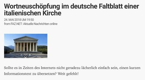 "Wortneuschöpfung im deutsche Zeitungsüberschrift • <a style=""font-size:0.8em;"" href=""http://www.flickr.com/photos/77921292@N07/42290530822/"" target=""_blank"">View on Flickr</a>"