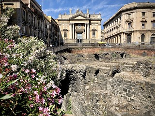 Architecture and archaeology in Catania