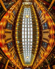 Leadenhall Verturama (Sam Codrington) Tags: architecturephotography verturama architecture cityoflondon panorama london leadenhallmarket verticalpanorama england unitedkingdom gb