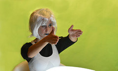 Androide 1 (dorieo21) Tags: androide android albino actress actriz whitehair chroma
