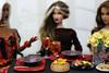 Let's Do Lunch! (MARVEL_DOLLS) Tags: fashionroyalty fr integrity jasonwu ooak customdoll goldstrokeadele gsadele exoticfirevero veroniqueperrin scenestealerisha ssisha handmadeclothing dollclothing youkostevens karenkolkman dollnecklace irresistibledania 16scale food asianfood southerncomfort cocktails milk cookies yellowroses table lunch plates silverware xmen xmansion marvel storm rogue shadowcat kittypryde lockheed az dollphotography challenge letsdolunch red dimsum sushi fish noodles friends friendship excalibur