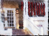 Hotel Chimayo de Santa Fe (Richard Denney) Tags: hotel chimayo santafe newmexico chile ristras color red impressionistic artistic painterly