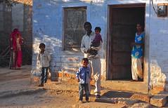 India- Rajasthan-  near Jodhpur (venturidonatella) Tags: india asia jodhpur village bishnoi bishnoivillage paese villaggio gentes people persone colori colors street strada streetscene streetlife nikon nikond300 d300 emozioni emotion ombra shadow luce light rajasthan