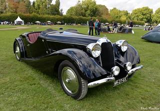 1937 Talbot-Lago T 150 C Roadster Pourtout
