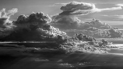 celestial architecture (Sergey S Ponomarev) Tags: sergeysponomarev canon eos 70d ef7020mmf4lisusm cloudscape tropical brazil brasil travel adventure trip journey bw blackandwhite bn light biancoenero сергейпономарев nature natura equator экватор облака небо путешествие бразилия тропики монохром clouds luce nuvole