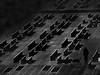magical mystery tour (heinzkren) Tags: schwarzweis blackandwhite monochrome bw sw fantasy composing lines dream traum linien dark panasonic lumix architcture architektur fassade facade man mann hund pet windows fenster silhouette structur pattern texture mystic mystery abstract digital