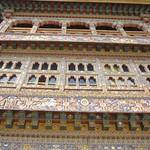 Details des Gangtey Monastery, Bhutan