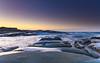 Sunrise Seascape and Rock Platform (Merrillie) Tags: daybreak sunrise spoonbay nature australia surf wamberal centralcoast newsouthwales waves earlymorning nsw morning beach ocean sea landscape sky coastal waterscape outdoors seascape water coast dawn seaside