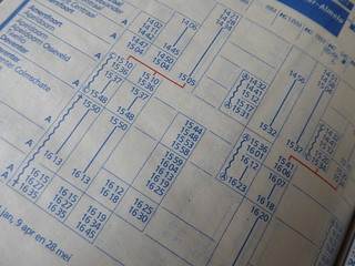 MM wk 14: Printed Timetables