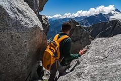 Between the rocks (Alessandro Iaquinta) Tags: landscape picoftheday dslr canon eos 5dmarkiii paesaggio colours mountain montagna fullframe