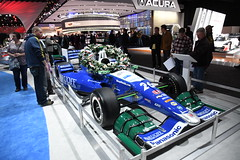 2017 Honda Indianapolis 500 race winner -- 2018 North American International Auto Show (Corvair Owner) Tags: north american international auto show detroit michigan mi mich new car display automobile truck suv crossover manufacturer january 2018 cobo arena hall center winter honda race indianapolis 500 indy 2017 winner