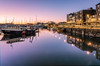 Barbican Dawn (Rich Walker75) Tags: plymouth plymouthbarbican landscape landscapes landscapephotography reflection reflections harbour boats historic water dawn bluehour morning sunrise canon efs1585mmisusm eos event eos80d england greatbritain devon