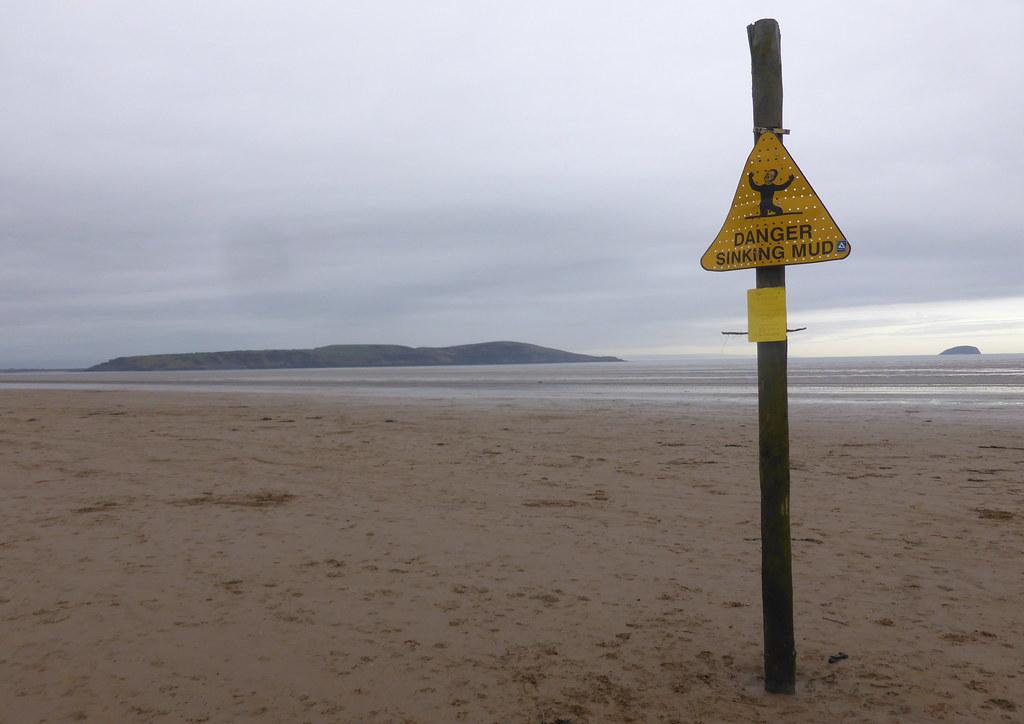 Danger Sinking Mud