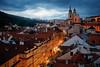 夜色,布拉格 (BestCityscape) Tags: 布拉格 捷克共和国 建筑 旅行 prague czech republic architecture europe travel square castle 教堂 cathedral