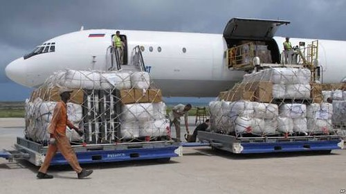 #Somalia's government says it has seized several bags of money worth almost $10m from a plane that arrived at #Mogadishu airport from the #United Arab Emirates capital #Abu Dhabi.
