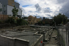 New Construction, CD (Blinking Charlie) Tags: centraldistrict centralarea seattle washingtonstate usa 2016 canonpowershots110 eunionstreet foundations clouds 19thavenue blinkingcharlie unstableair trough