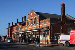 Salisbury Station, January 2nd 2017 (Southsea_Matt) Tags: canon 80d january 2017 winter salisbury wiltshire england unitedkingdom railway railroad station transport