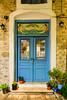 Door to The Workshop (George Plakides) Tags: door navplion nafplion blue painting mermaid