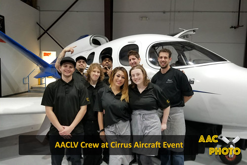 "AACLV Crew at Cirrus Aircrafts Event • <a style=""font-size:0.8em;"" href=""http://www.flickr.com/photos/159796538@N03/27387975788/"" target=""_blank"">View on Flickr</a>"