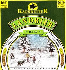 Austria - Brauerei Kapsreiter (Schärding) (cigpack.at) Tags: austria österreich brauerei kapsreiter schärding landbier bock bier beer brewery label etikett bierflasche bieretikett flaschenetikett