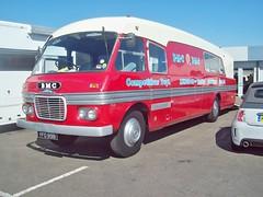 161 BMC Racing Car Transporter (1959) (robertknight16) Tags: bmc british 1950s transporter lorry truck marshalls racingcar silverstone vscc yfo898