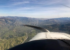 Flying up to Tehachapi, CA (- Adam Reeder -) Tags: sky landscape photo pretty view awesome airplane aviation flying aircraft lift air fly plane n5777v musketeer beech beechcraft a2324 super iii baby mouse pilot license california ga generalaviation fixed gear constant speed asel fun adam reeder