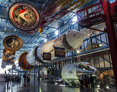 * KSC (swdmfan) Tags: space museum ksc ship rocket saturn moon landing kennedys apollo florida