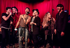Coffee Shop Arena Rock 04/07/2018 #38 (jus10h) Tags: coffeeshoparenarock curtispeoples hotelcafe losangeles hollywood california live music concert gig event residency show performance showcase coffeeshop arenarock 80s 90s covers songs singers nikon d610 lowlight photography 2018 april justinhiguchi