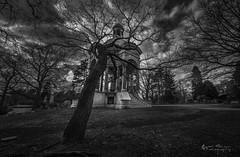 DSC_1722B (Quiet Storm!) Tags: quietstormphotography quietstorm quietstormphotos oscarrivera fotopro bronx woodlawn cemetery blackwhite bw wideangle longexposure