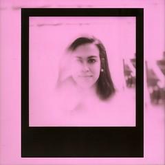 Polaroid 245 (rrgoncalves92) Tags: polaroid polaroidoriginals lisbon film sx70 sonar 5000 impossible impossibleproject theimpossibleproject pink polasonar polasonic sx 70