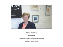 """Norma Baretincic Solo at Commissioners Gallery 2018 • <a style=""""font-size:0.8em;"""" href=""""https://www.flickr.com/photos/124378531@N04/27538267608/"""" target=""""_blank"""">View on Flickr</a>"""