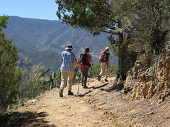 Walk 6 - heading round the bend! (Jackie & Dennis) Tags: lagomera roundthebend
