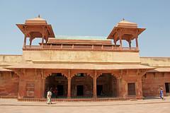 Fatehpur Sikri - (65) (Rubén Hoya) Tags: fatehpur sikri templo palacio capital imperial rajasthan india