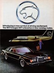 1977 Mercury Cougar XR-7 (aldenjewell) Tags: 1977 mercury cougar xr7 ad