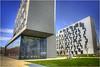 Wirtschafts Universitätchidektur Wien DSC_6382_Text (Hanspeter Ryser) Tags: wien wirtschaftuni östereich austria archidektur art bau modern color stadt city europa prater