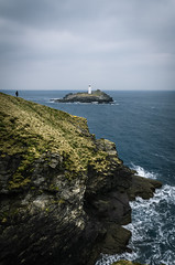 Rough View (Fabian Fortmann) Tags: cornwall lighthouse coast water sea england south tiny people