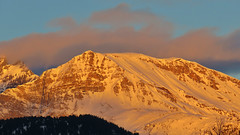 Alpenglow - Splügen - Graubünden - Schweiz (Felina Photography - www.mountainphotography.eu) Tags: alpenglow alpenglühen splügen graubünden grigioni grischun svizzera switzerland suisse schweiz zwitserland svizra alps alpen alpi montagna mountain alpine glow light colours winter inverno hivers paysage paesaggio nature natura natuur grisons