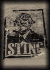 STING, Crete. 3rd June 2018. (craigdouglassimpson) Tags: posters advertising streetart heraklion crete greece