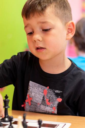 VIII Turniej Szachowy o Mistrzostwo Przedszkola Europejska Akademia Dziecka-44