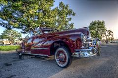 1948 pontiac silver streak (pixel fixel) Tags: 1948 carlsjr cypress latingentscc maroon pontiac red tweakedpixels ©2018kathygonzalez