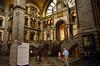 Antwerp CS Belgium (alex.vangroningen) Tags: clock station old building stones people movement