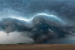The Beast (Matt Granz Photography) Tags: tornado twister storm kansas dodgecity plains field grass nature supercell structure blue weather clouds stormchasing chaser nikon mattgranz