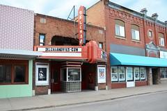 North Dakota, Mayville, Delchar Theatre (EC Leatherberry) Tags: northdakota 1927 mayvillenorthdakota delchartheatre triallcounty