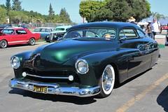 53rd Annual LA Roadsters Show (USautos98) Tags: 1950 mercury fatboy leadsled traditionalhotrod streetrod kustom