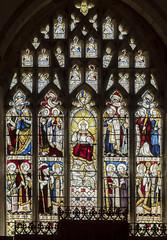 Brandesburton, St Mary's church, East window (Jules & Jenny) Tags: brandesburton stmaryschurch stainedglasswindow eastwindow