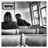 The Ferry Crossing (cupitt1) Tags: passengers ferry seat transport water river hunter newcastle commuter commuting sitting travel monochrome bw